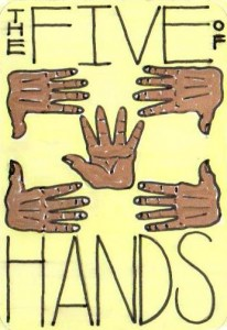 The Five of Hands