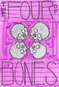 The Four of Bones