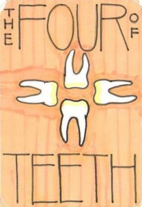The Four of Teeth