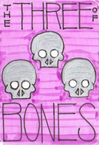 The Three of Bones